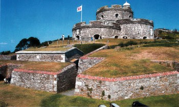 Saint Mawes Castle UK